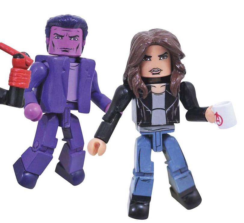 Jessica Jones & Purple Man Minimates