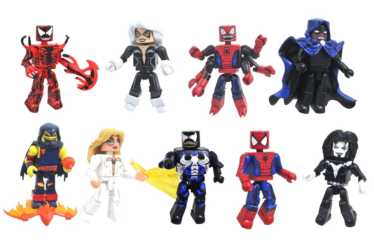 Marvel Minimates Series 76: Maximum Carnage Full Set of 8
