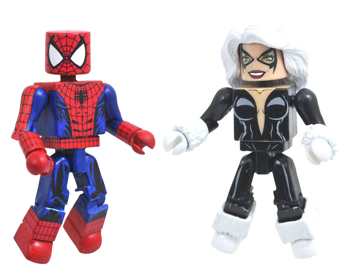 Spider-Man & Black Cat Maximum Carnage Marvel Minimates