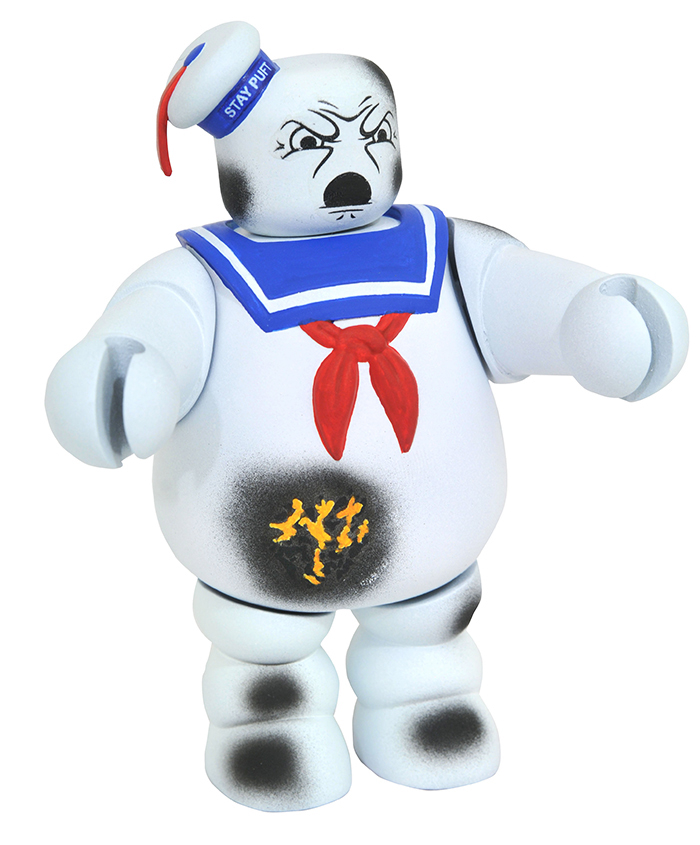 SDCC Exclusive Battle Damaged Stay Puft Man Ghostbusters Vinimate Vinyl Figure