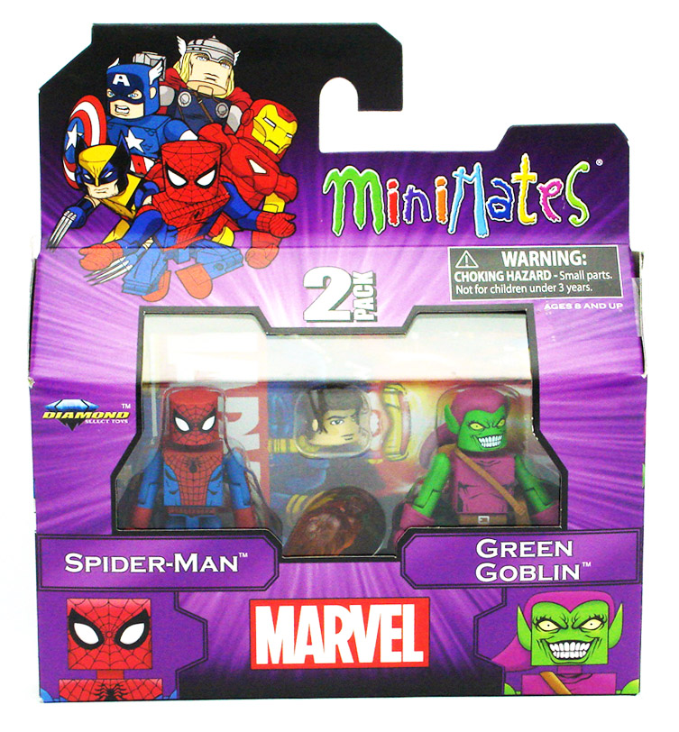 Spider-Man & Green Goblin Best of Marvel Minimates