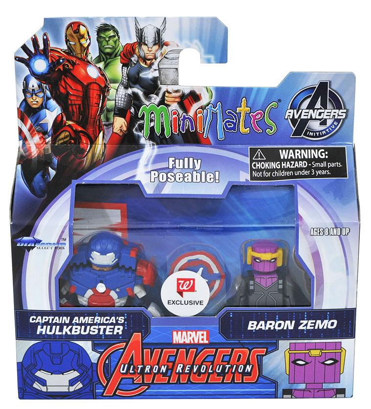 Captain America's Hulkbuster & Baron Zemo Walgreens Minimates
