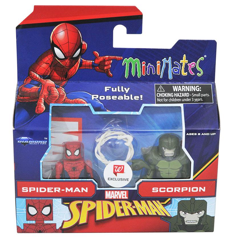 Spider-Man & Scorpion Walgreens Minimates
