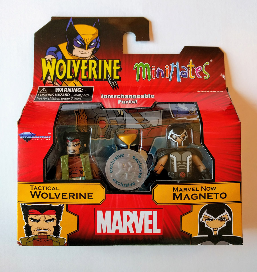 Tactical Wolverine & Marvel NOW Magneto TRU Minimates