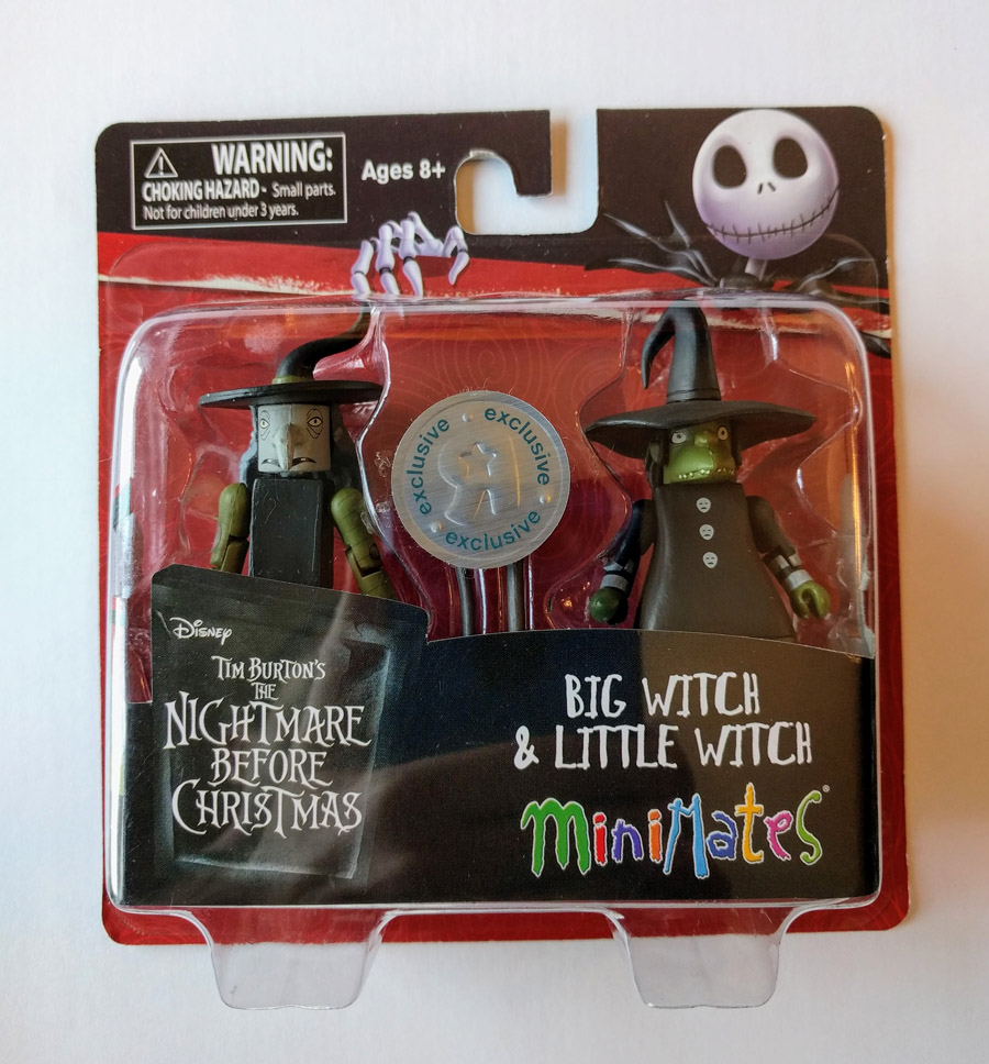 Big Witch & Little Witch Nightmare Before Christmas TRU Minimates