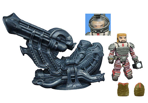 TRU Exclusive Space Jockey Deluxe Aliens Minimates Set