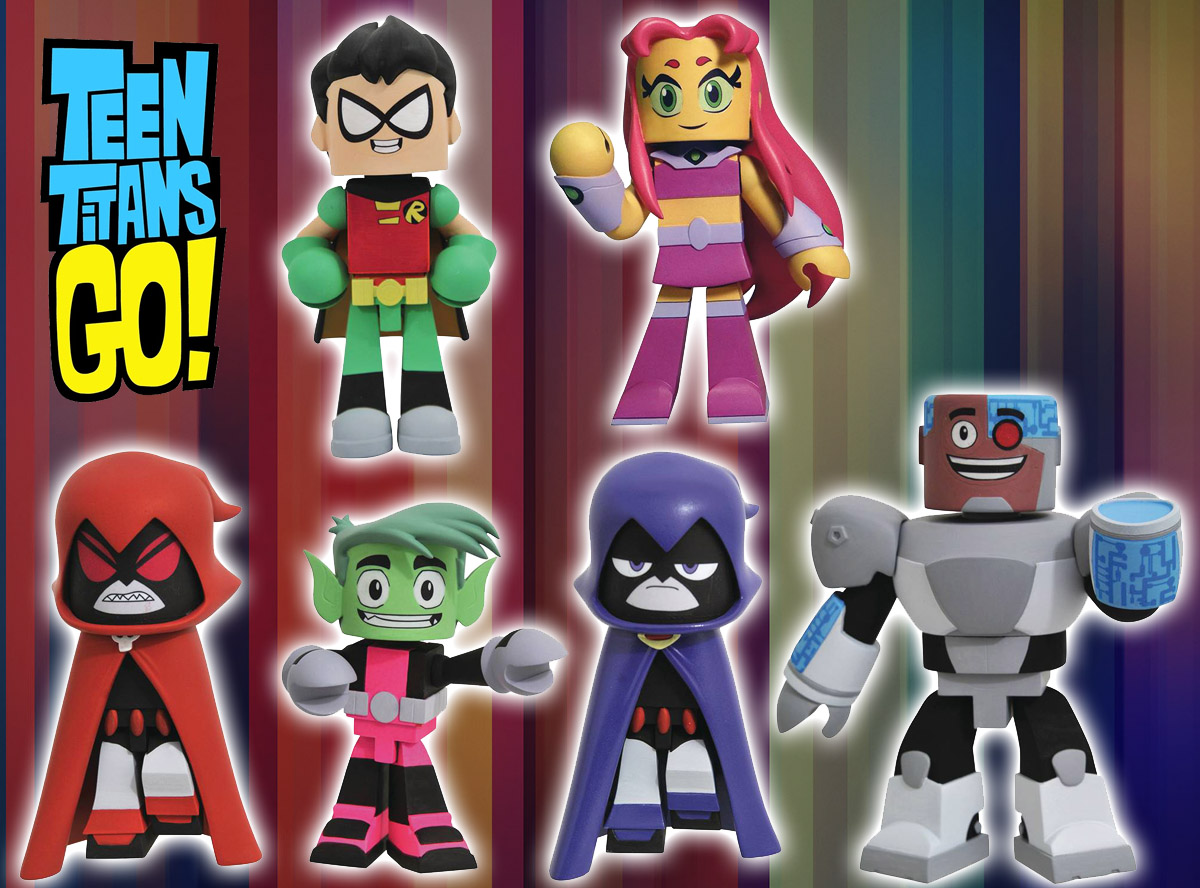 Teen Titans Go Vinimate Vinyl Figure Full Set of 6