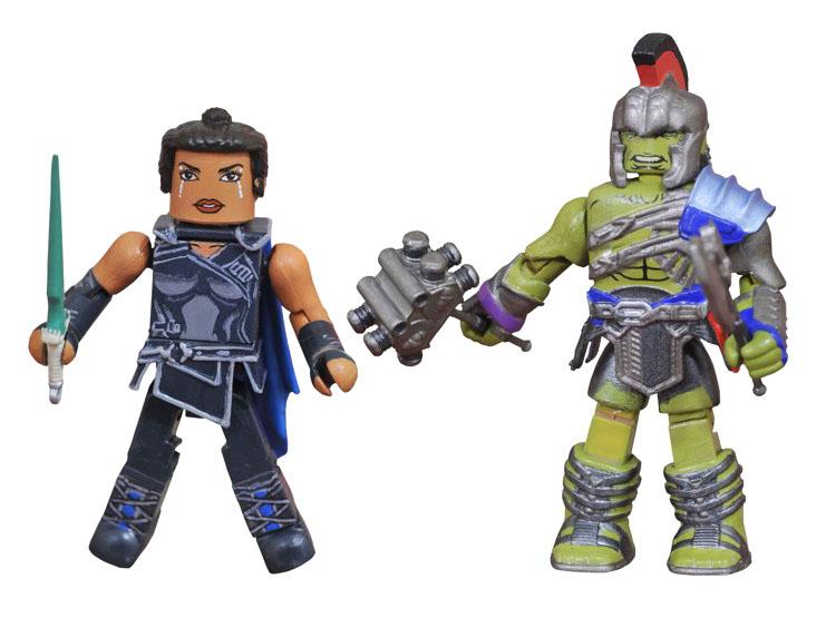 Gladiator Hulk & Valkyrie Walgreens Minimates