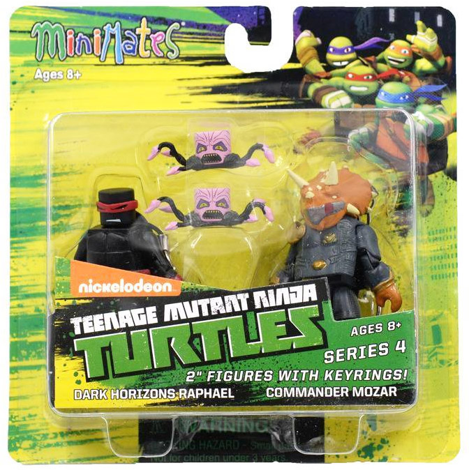 Dark Horizons Raphael & Commander Mozar TRU Exclusive TMNT Minimates