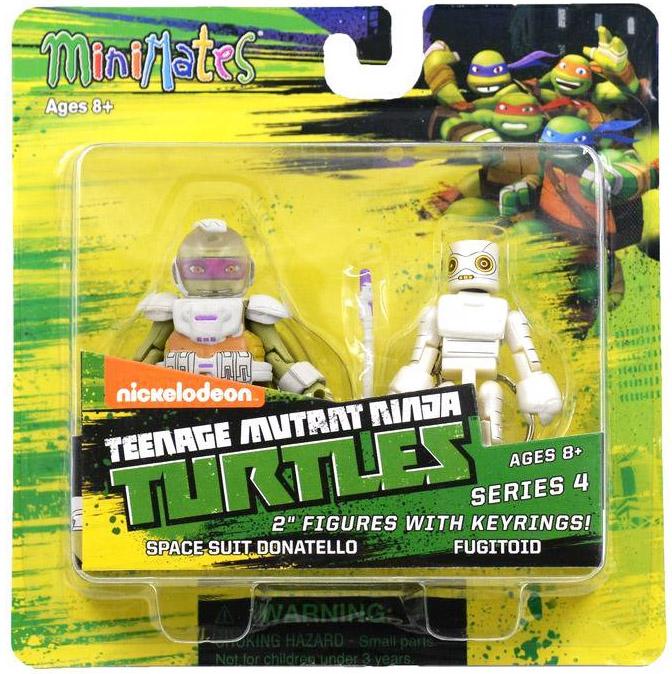 Space Suit Donatello & Fugitoid TRU Exclusive TMNT Minimates