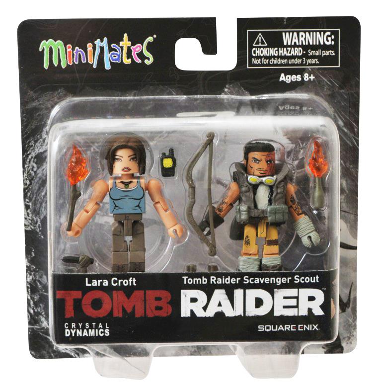 Lara Croft & Scavenger Scout Tomb Raider Minimates