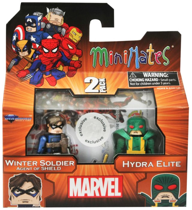 Winter Soldier & Hydra Elite TRU Exclusive Minimates