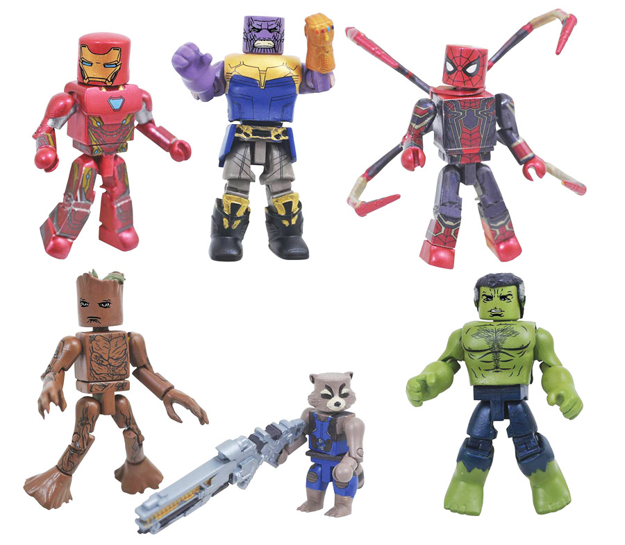Infinity War Toys R Us Minimates Series 1 Full Set of 6
