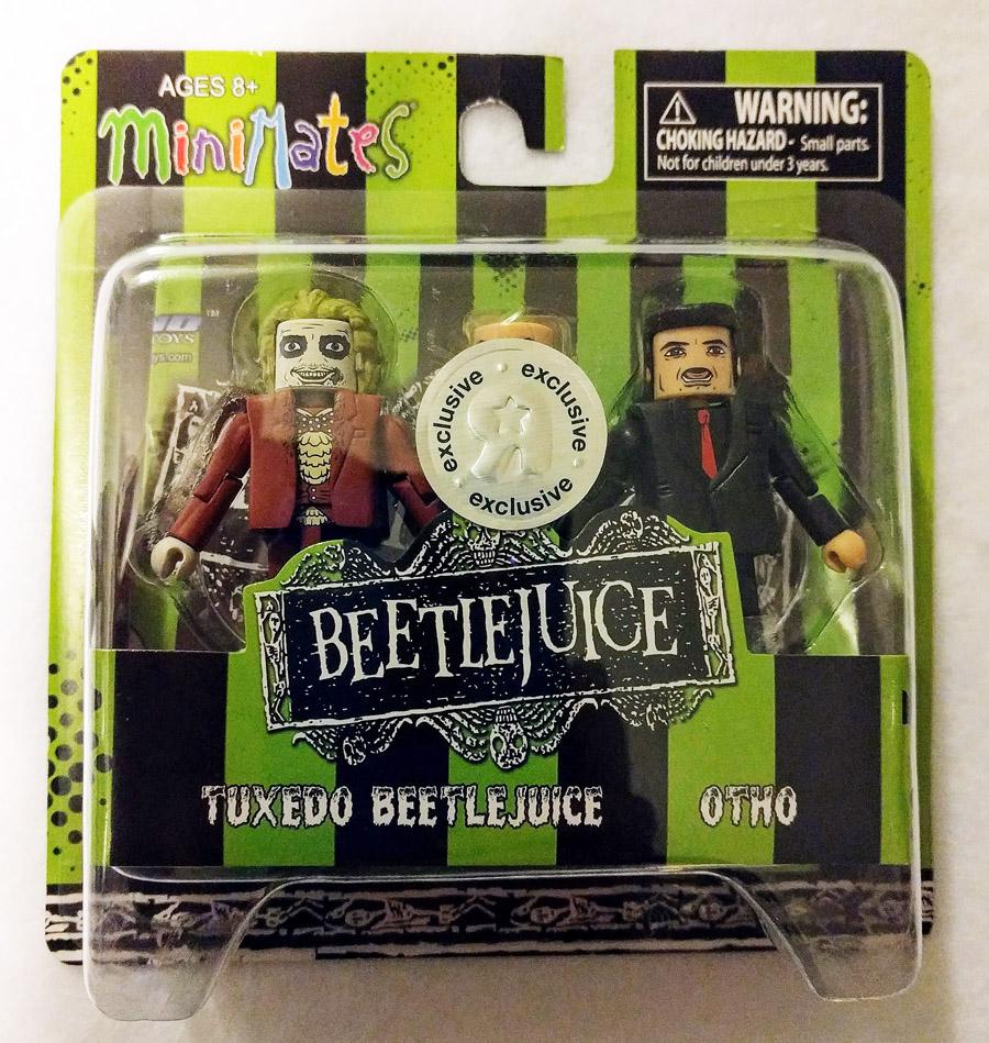 Tuxedo Beetlejuice & Otho TRU Minimates