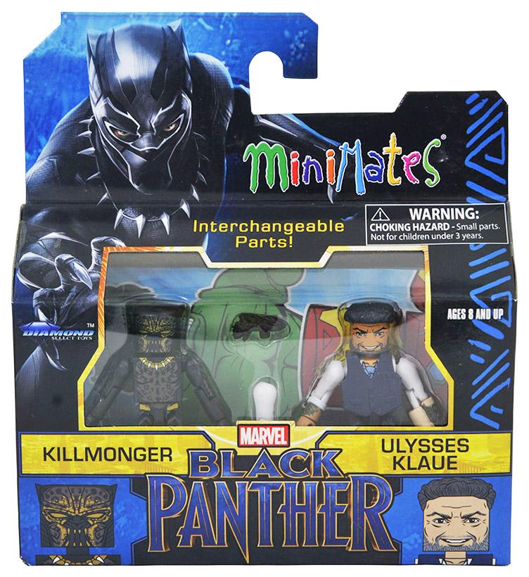 Killmonger & Ulysses Klaue TRU Minimates