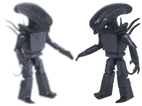 TRU Exclusive Alien Covenant Xenomorph & Translucent Xenomorph