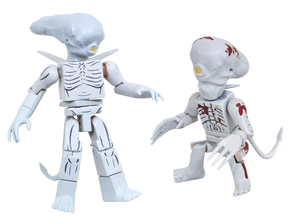 TRU Exclusive Alien Covenant Teenage and Toddler Neomorphs
