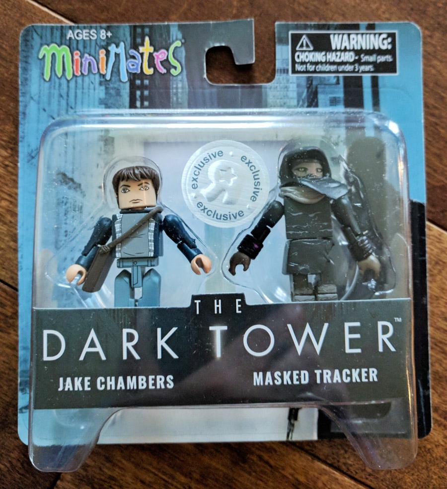 TRU Exclusive Jake Chambers & Masked Tracker Dark Tower Minimates
