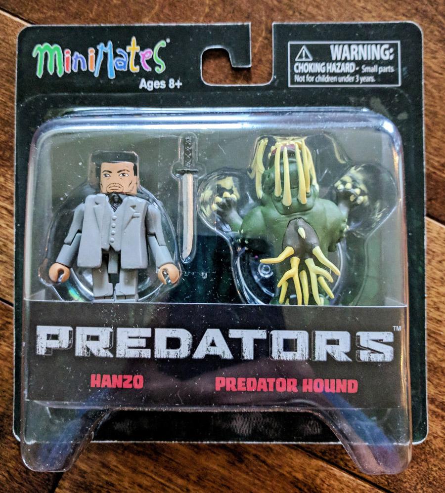 TRU Exclusive Hanzo & Predator Hound Minimates