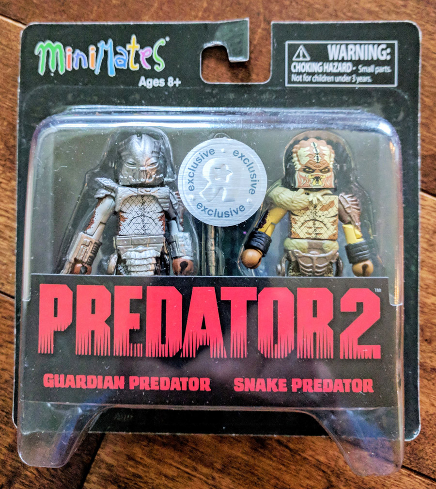 TRU Exclusive Guardian Predator & Snake Predator Minimates