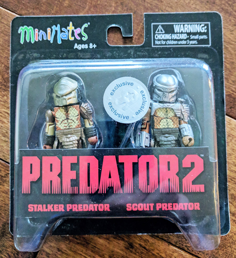 TRU Exclusive Stalker Predator & Scout Predator Minimates