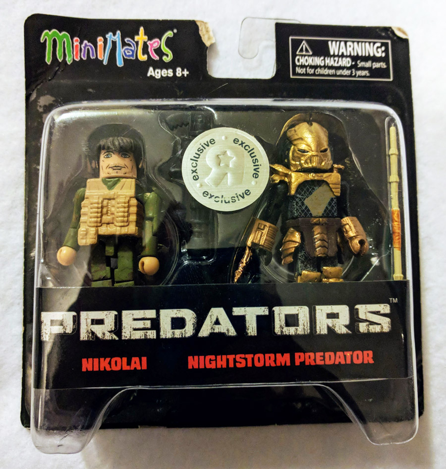 Nikolai & Nightstorm Predator TRU Minimates (damaged package)