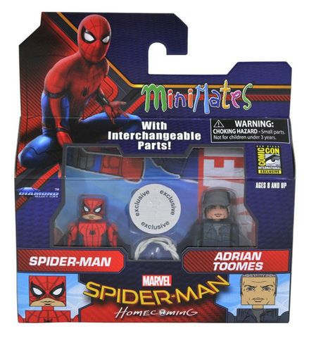 SDCC TRU Exclusive Spider-Man vs Adrian Toomes Minimates