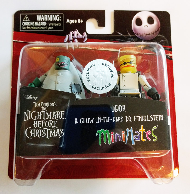 Igor & Glow in the Dark Dr. Finkelstein TRU Exclusive Minimates
