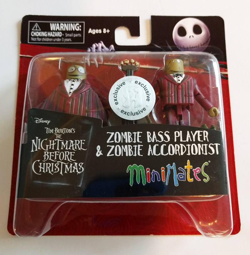 Zombie Bass Player & Accordionist TRU Exclusive Minimates
