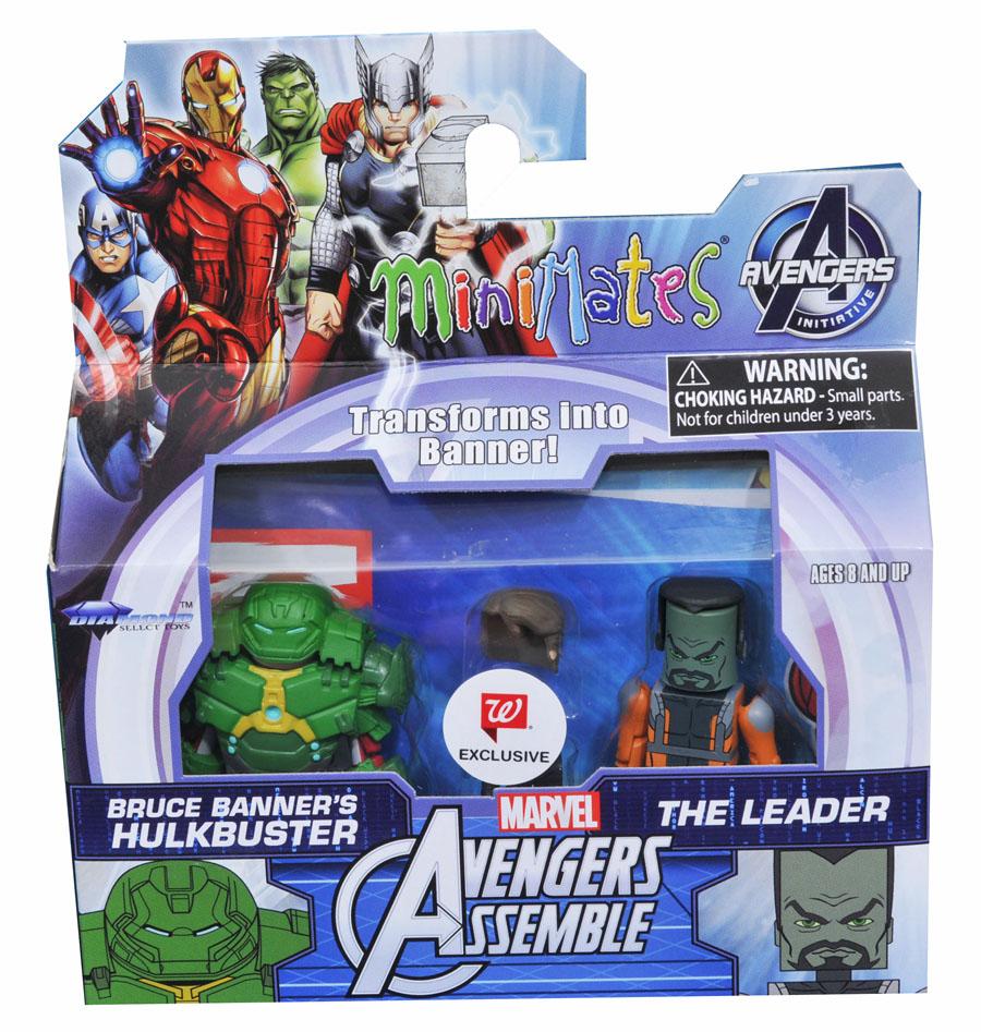 Bruce Banner Hulkbuster & Leader Walgreens Minimates