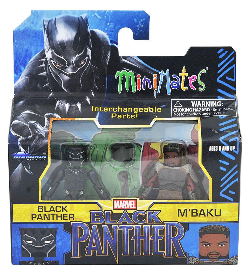 Black Panther & M'Baku Walgreens Minimates