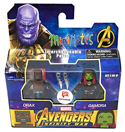 Infinity War Drax & Gamora Walgreen's Exclusive Marvel Minimates