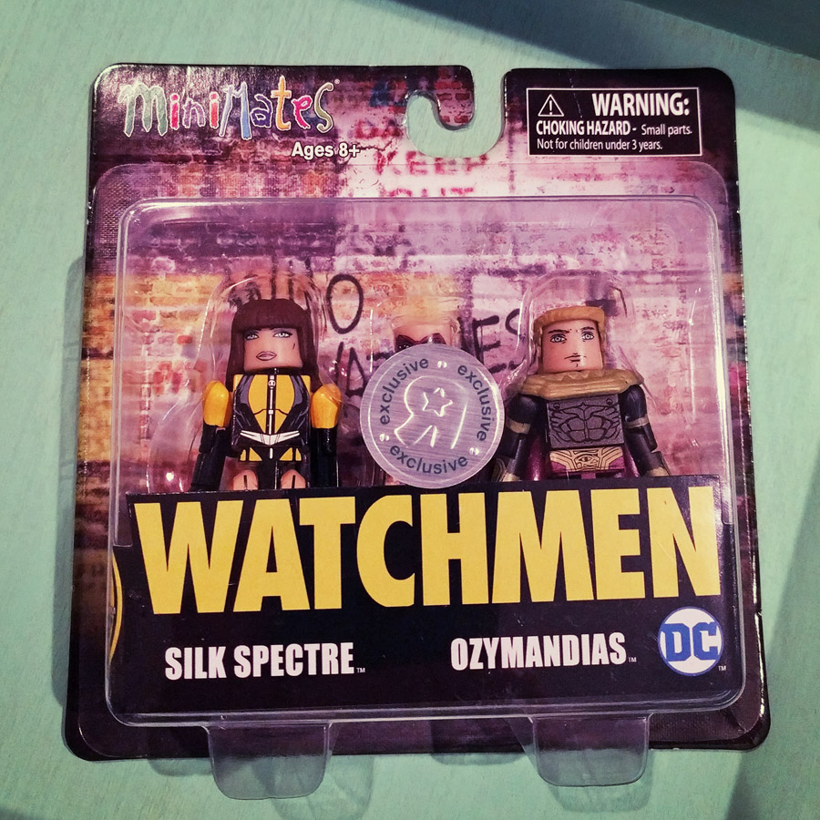 Silk Spectre & Ozymandias TRU Exclusive Watchmen Minimates