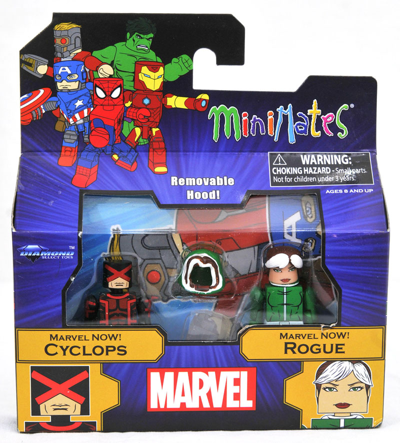Marvel Now Cyclops & Rogue Walgreen's Exclusive Minimates