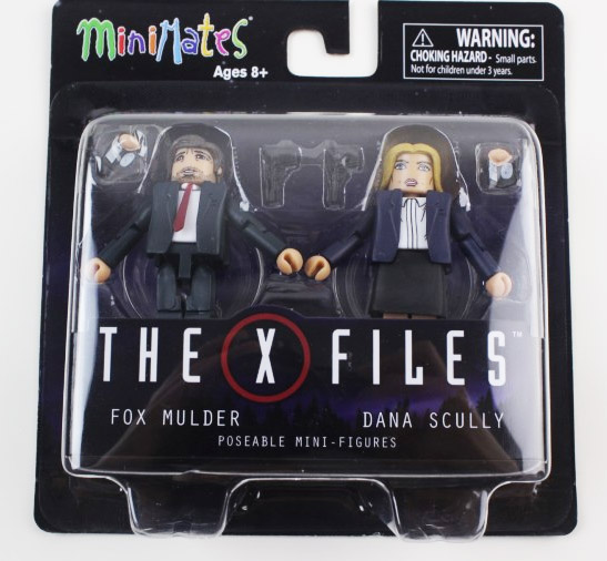 The X-Files Mulder & Scully Minimates 2-Pack