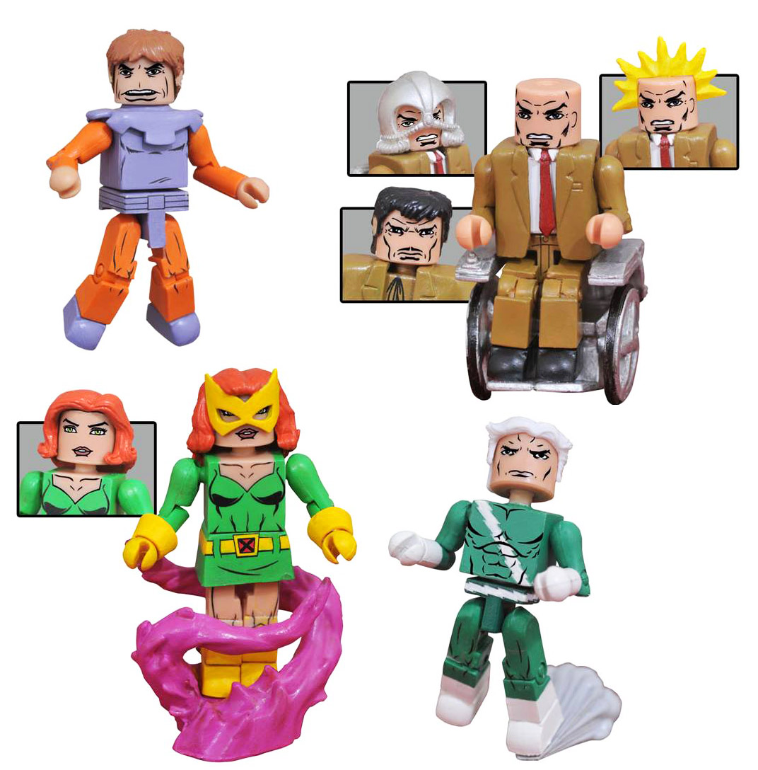 X-Men VS Brotherhood of Evil Mutants Marvel Minimates Box Set
