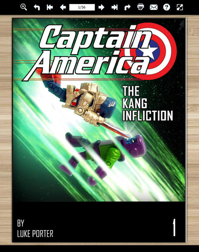Captain America The Kang Infliction