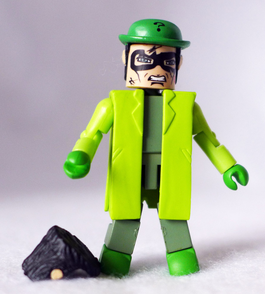 The Riddler Alt Costume Custom DC Minimate