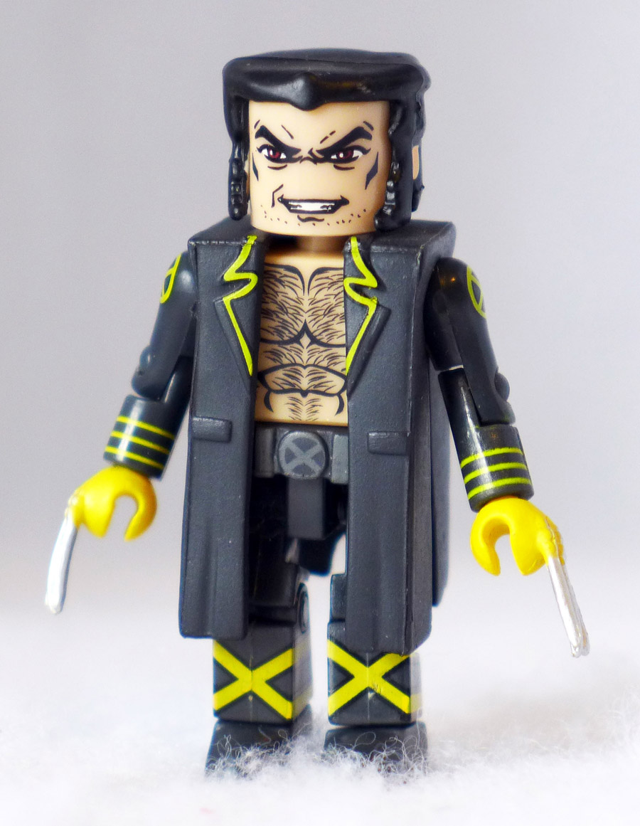New X-Men Wolverine Custom Minimate