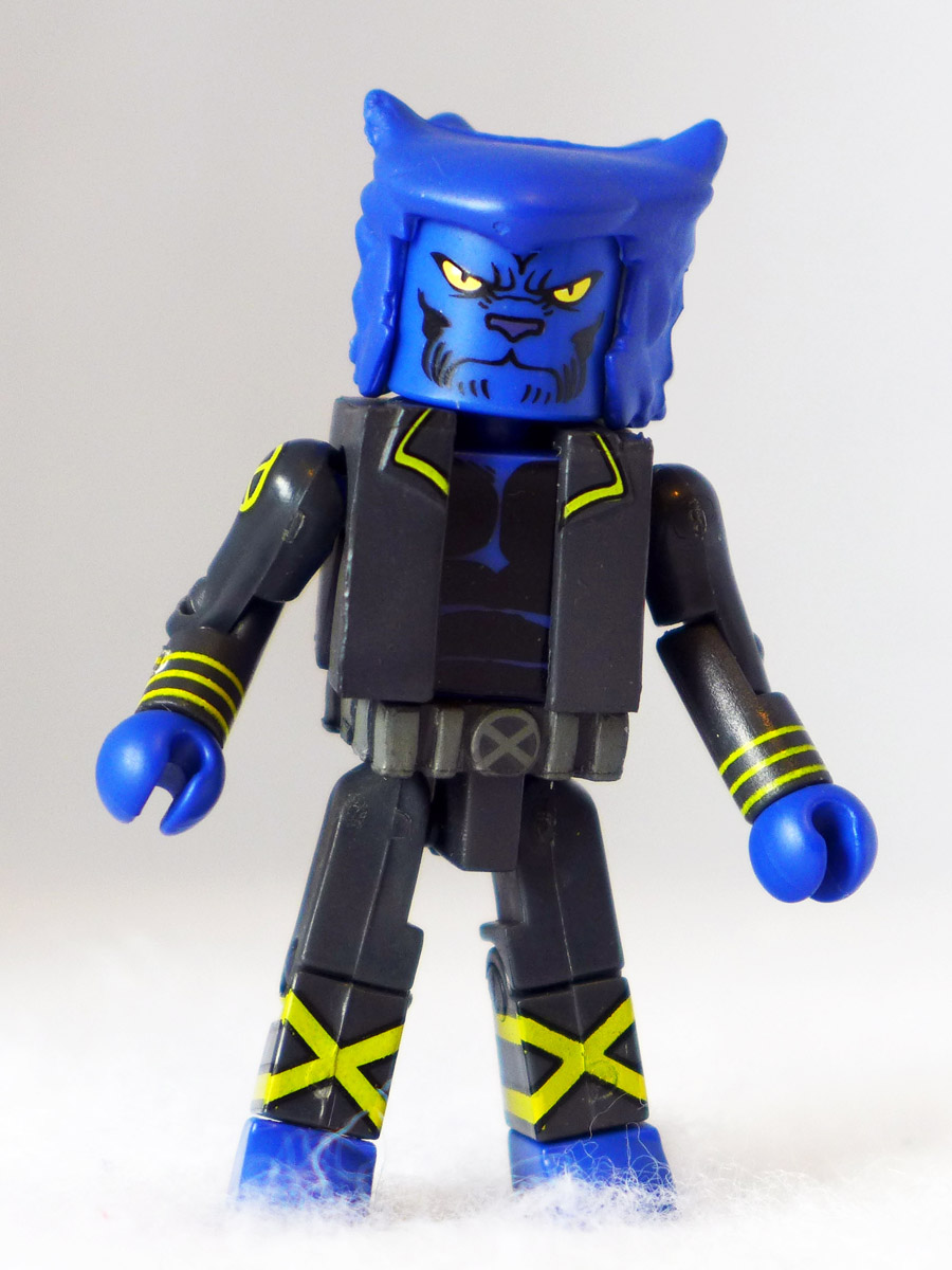 New X-Men Beast Custom Minimate