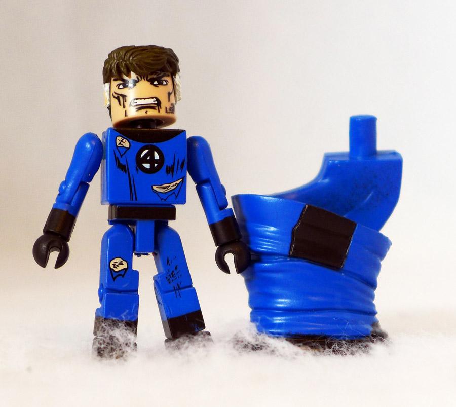 Battle Damaged Mr Fantastic Loose Minimate