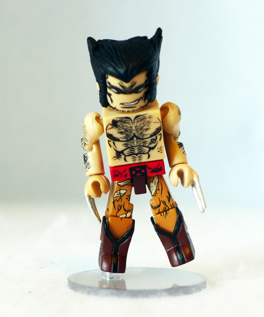 Battle Ravaged Wolverine Loose Minimate