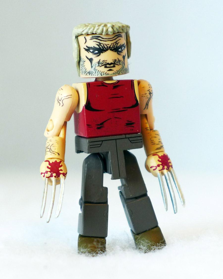Bloody Old Man Logan Custom Minimate