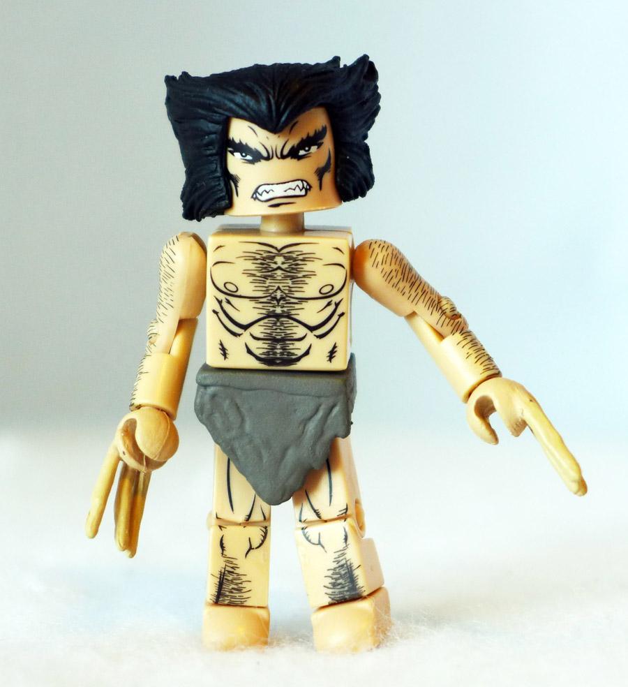 Weapon X Wolverine Loose Minimate