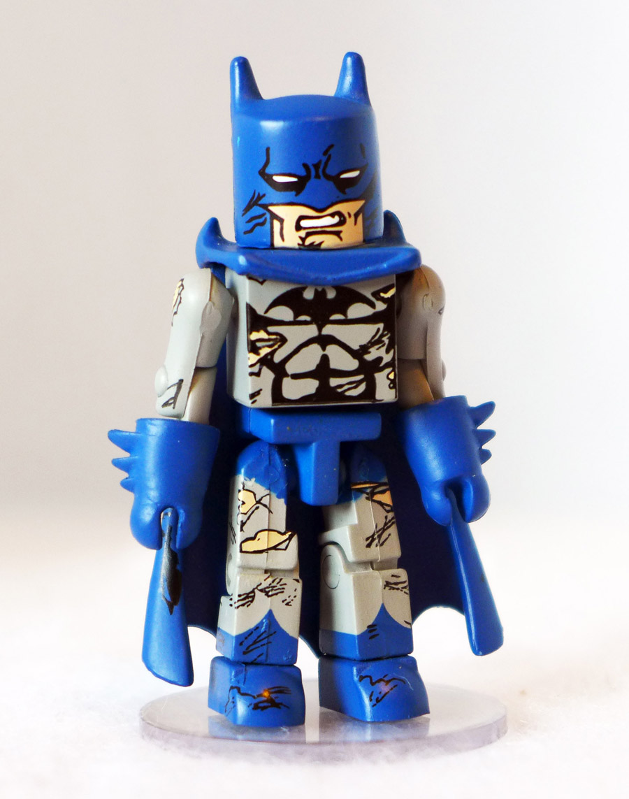 Battle Damaged Batman Loose Minimate