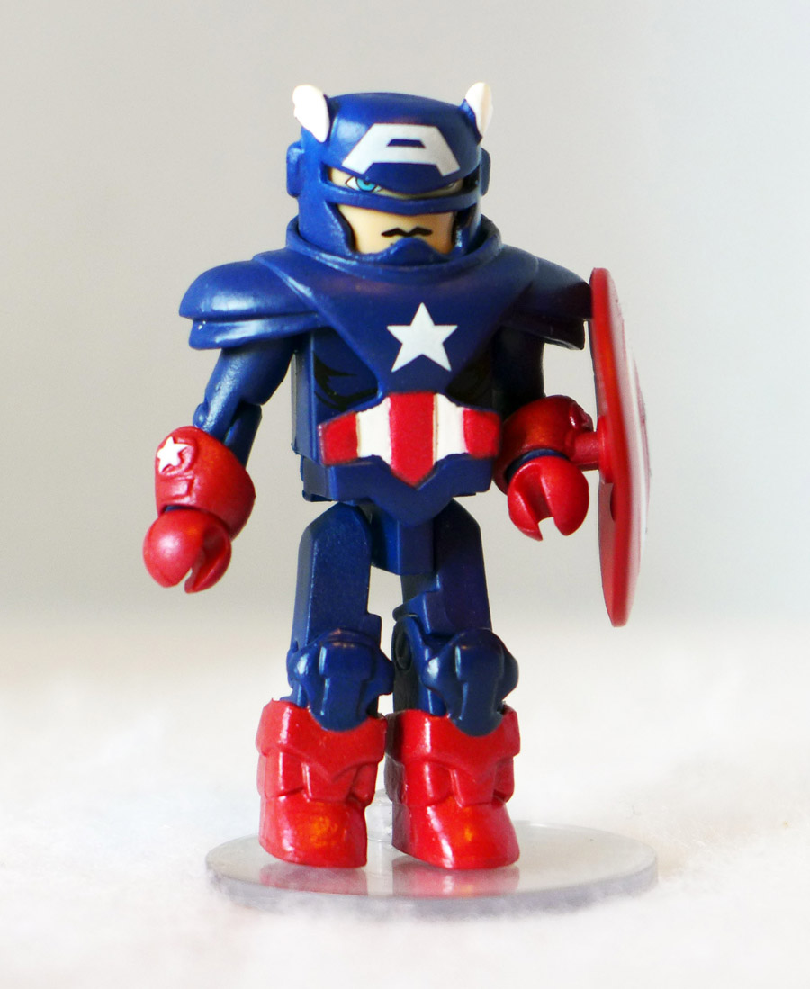 Armored Captain America Loose Minimate