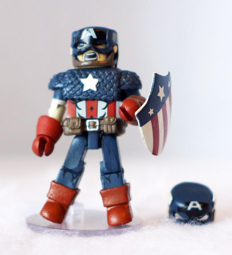 WW2 Captain America Loose Minimate
