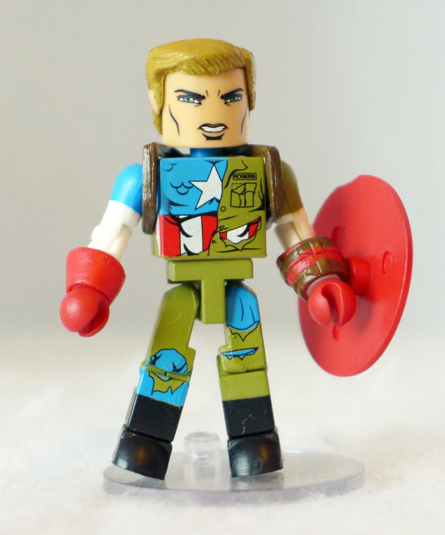 Captain American Custom Minimate
