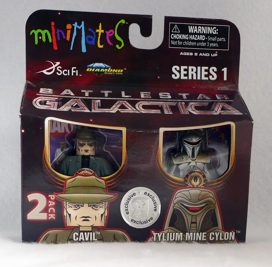 BSG Cavil & Tylium Mine Cylon Minimates