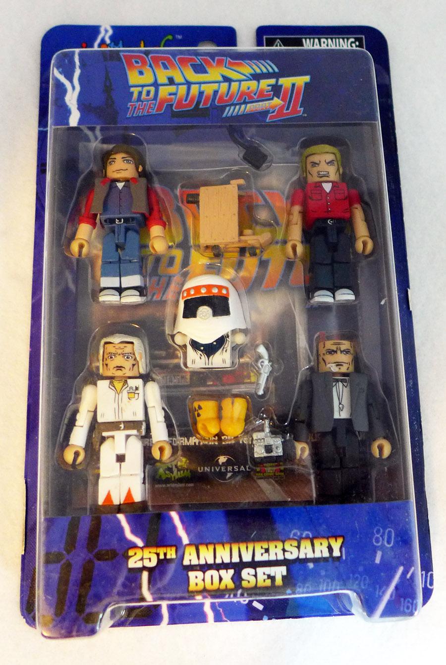 Back to the Future 25th Anniversary Minimates Box Set
